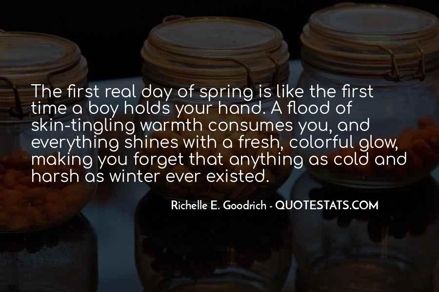 First Day Spring Quotes #763542