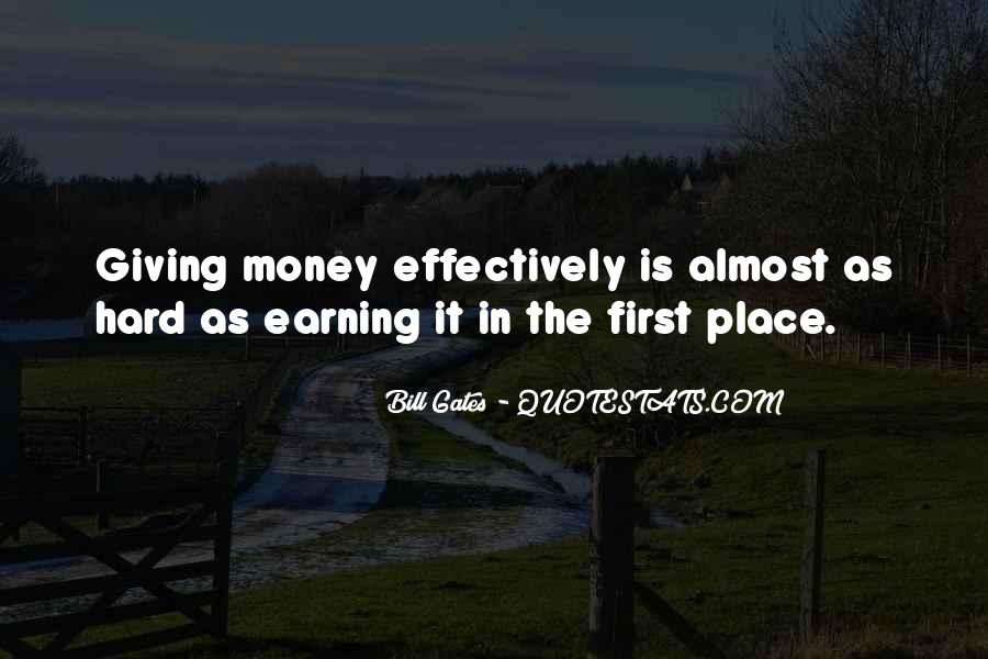 First Earning Quotes #1378614