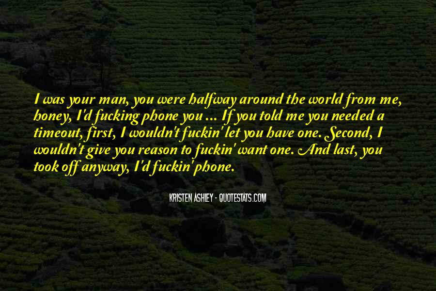 First Man Quotes #70730