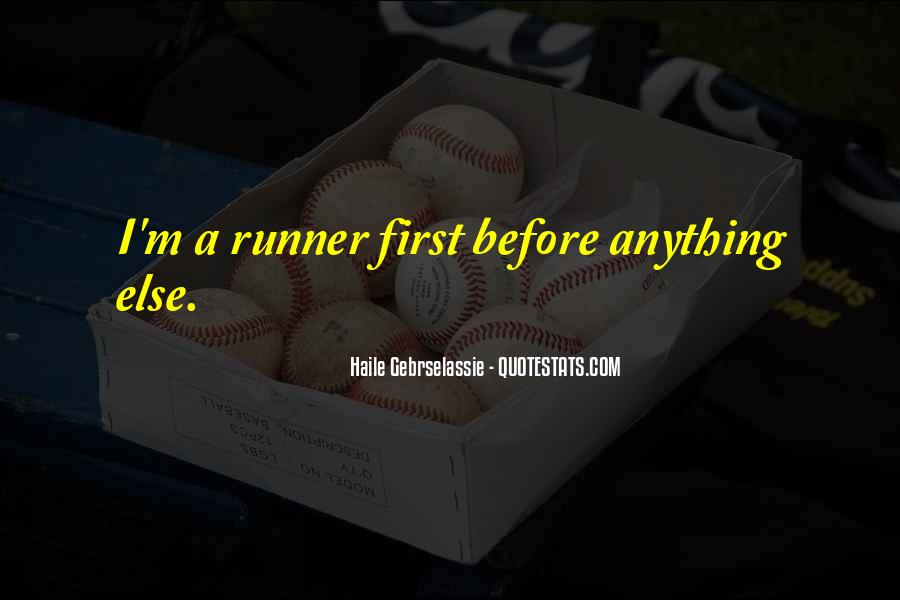 First Runner Up Quotes #139437