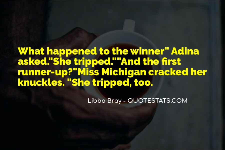 First Runner Up Quotes #359817