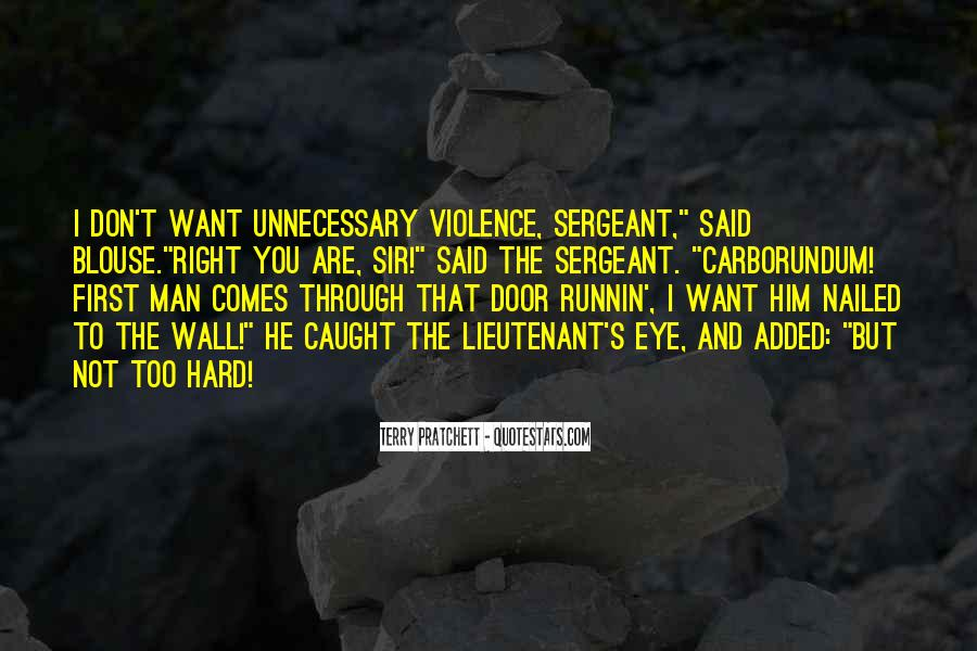 First Sergeant Quotes #1864038