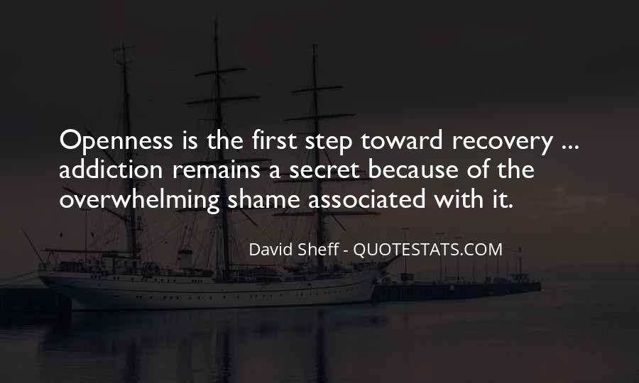 First Step To Recovery Quotes #1826687