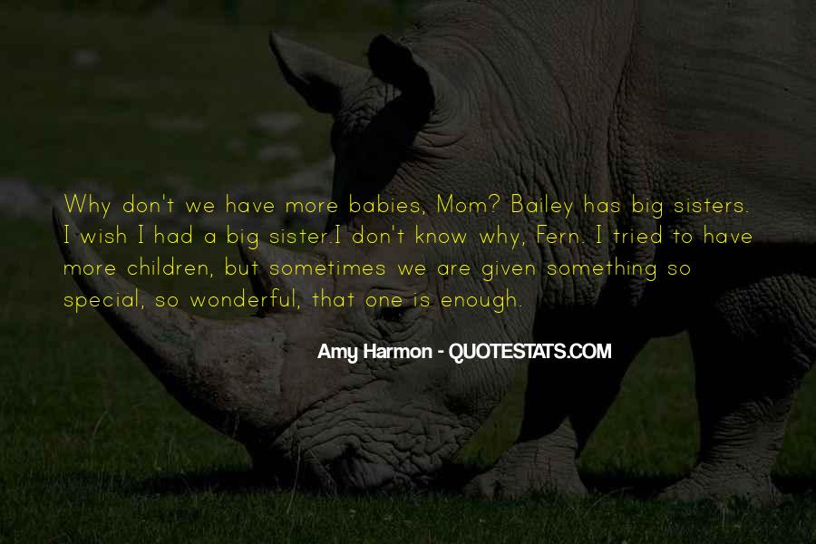 Quotes About Having Big Sisters #12656