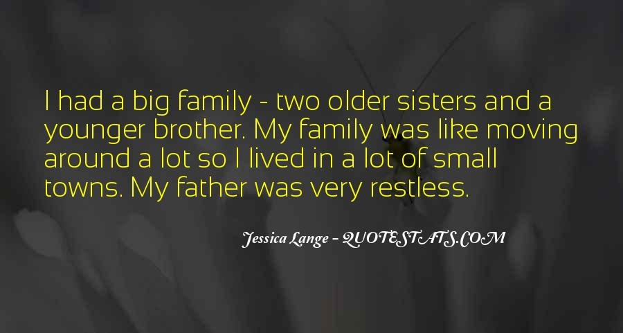 Quotes About Having Big Sisters #465064