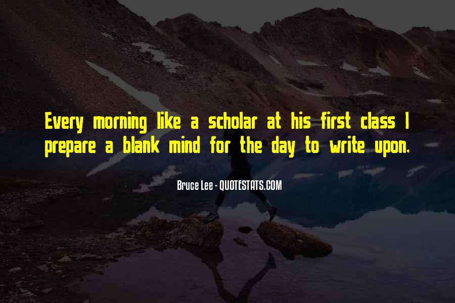 First Thing Every Morning Quotes #87171