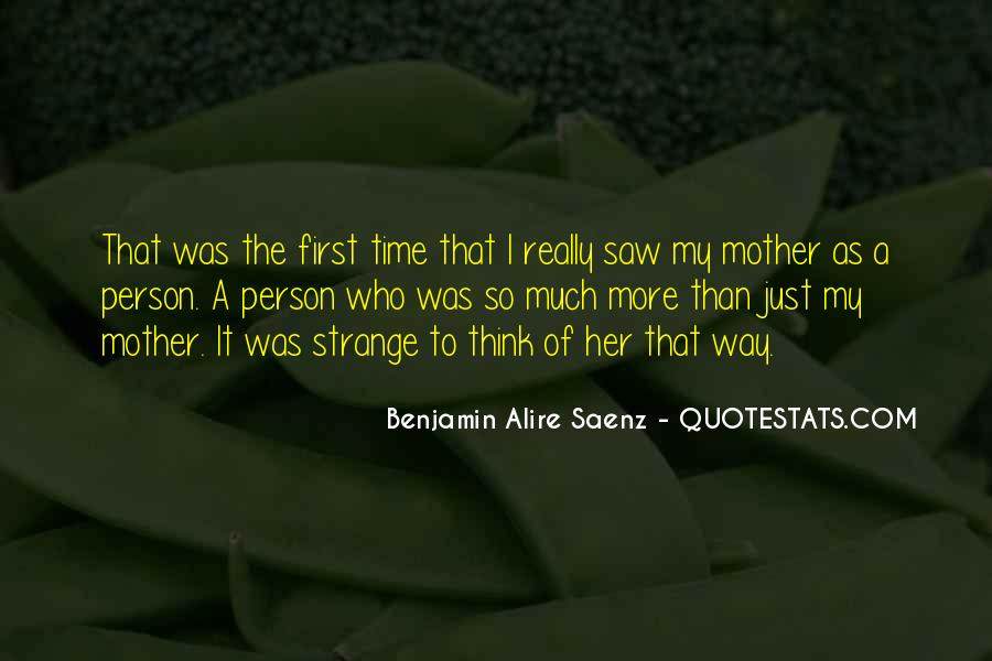 First Time I Saw Her Quotes #246067