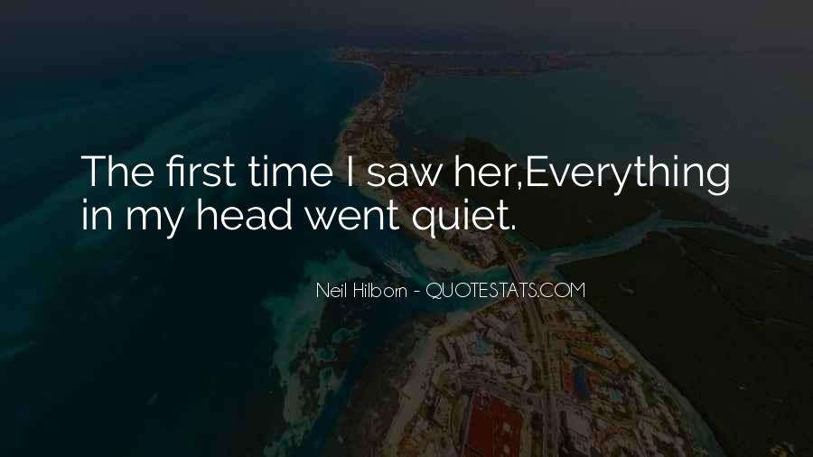 First Time I Saw Her Quotes #248190