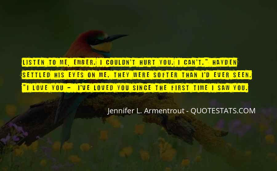 First Time I Saw Her Quotes #95775
