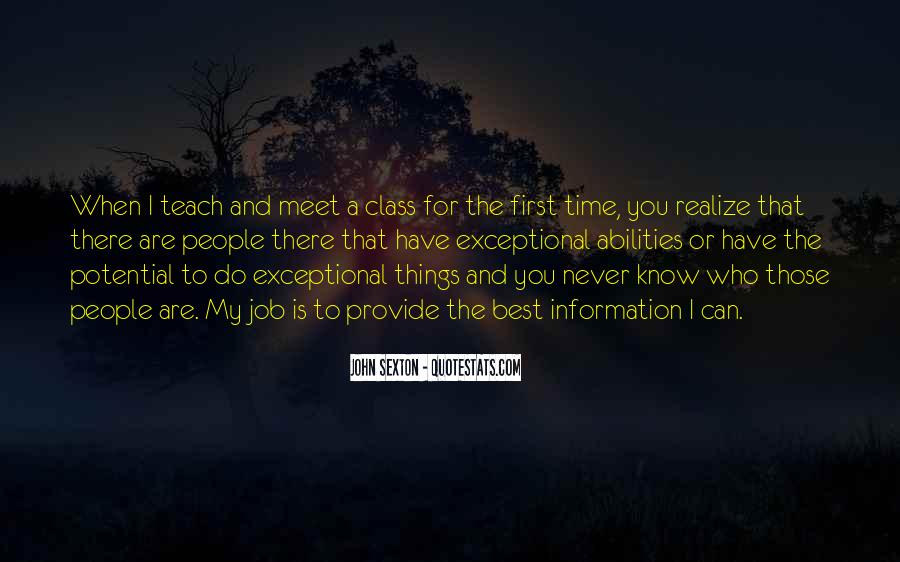 First Time Meet You Quotes #108567