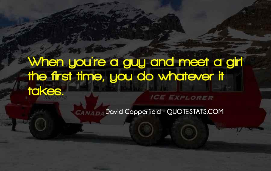 First Time Meet You Quotes #1202739