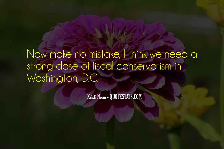 Fiscal Conservatism Quotes #60223
