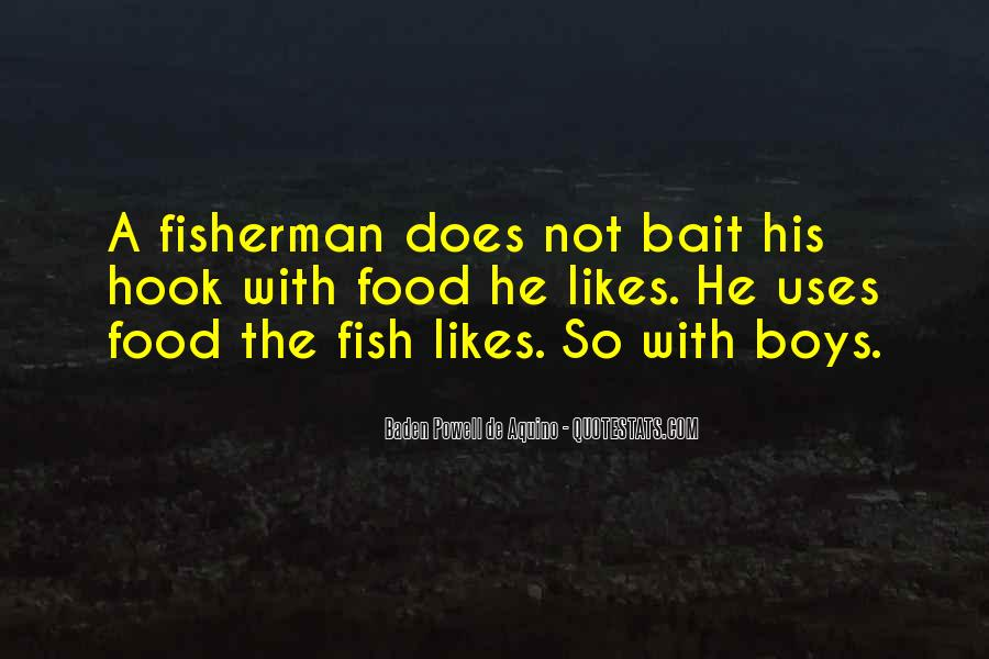 Fish Hook Quotes #1550960