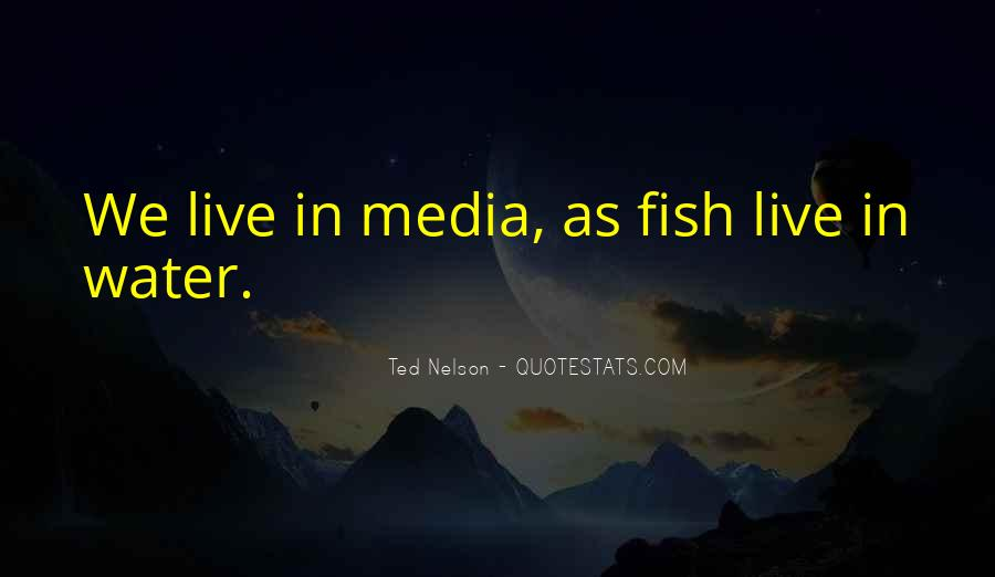 Fish In Water Quotes #1070410