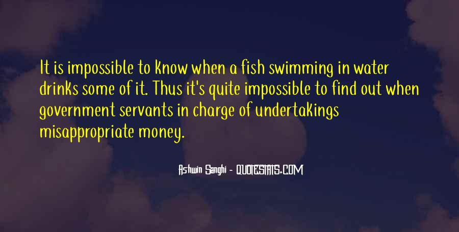 Fish In Water Quotes #1090198