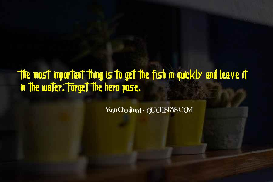 Fish In Water Quotes #173520