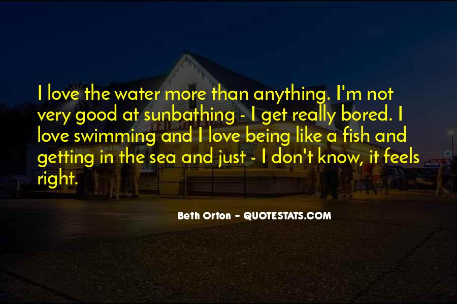 Fish In Water Quotes #175316