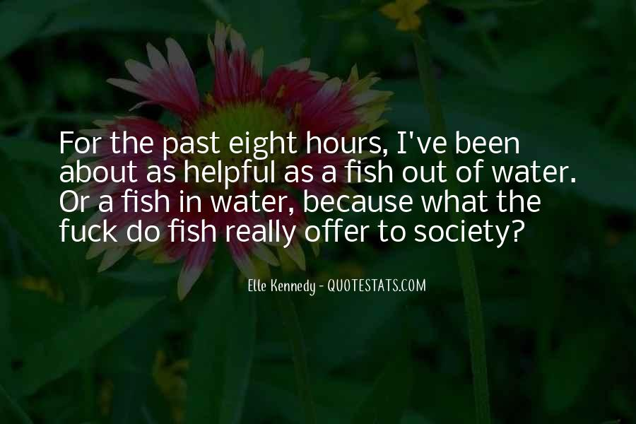 Fish In Water Quotes #198211