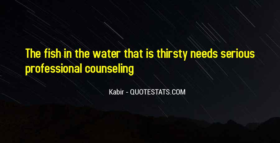 Fish In Water Quotes #247540