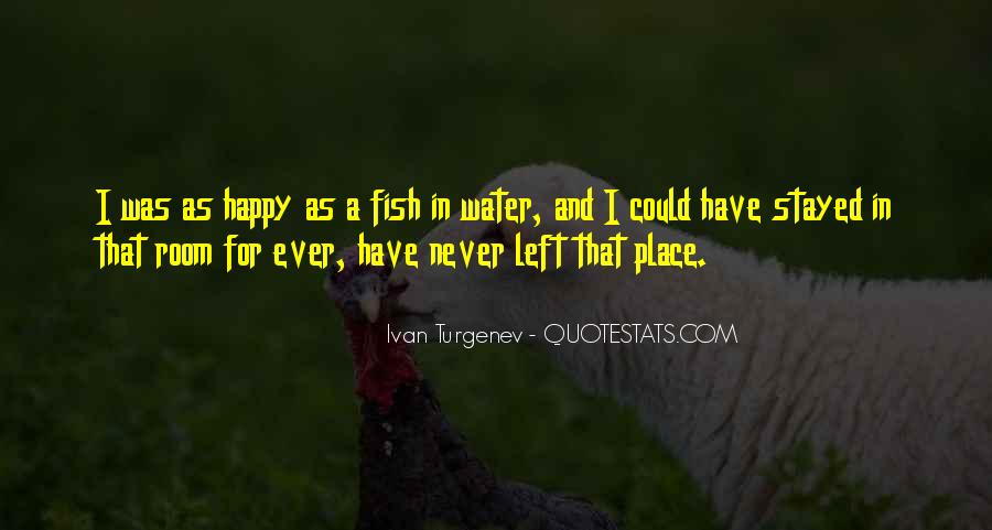 Fish In Water Quotes #315134