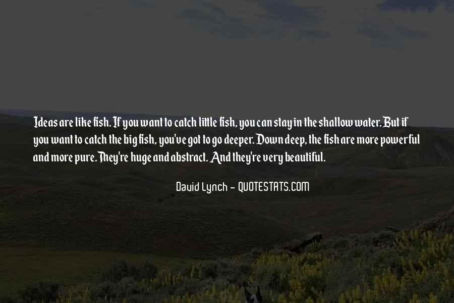 Fish In Water Quotes #419563