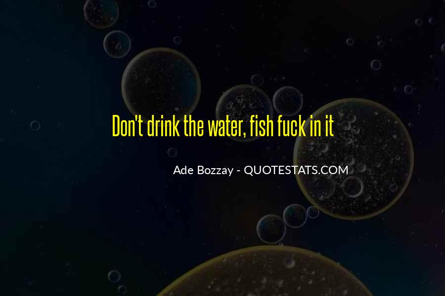 Fish In Water Quotes #44016