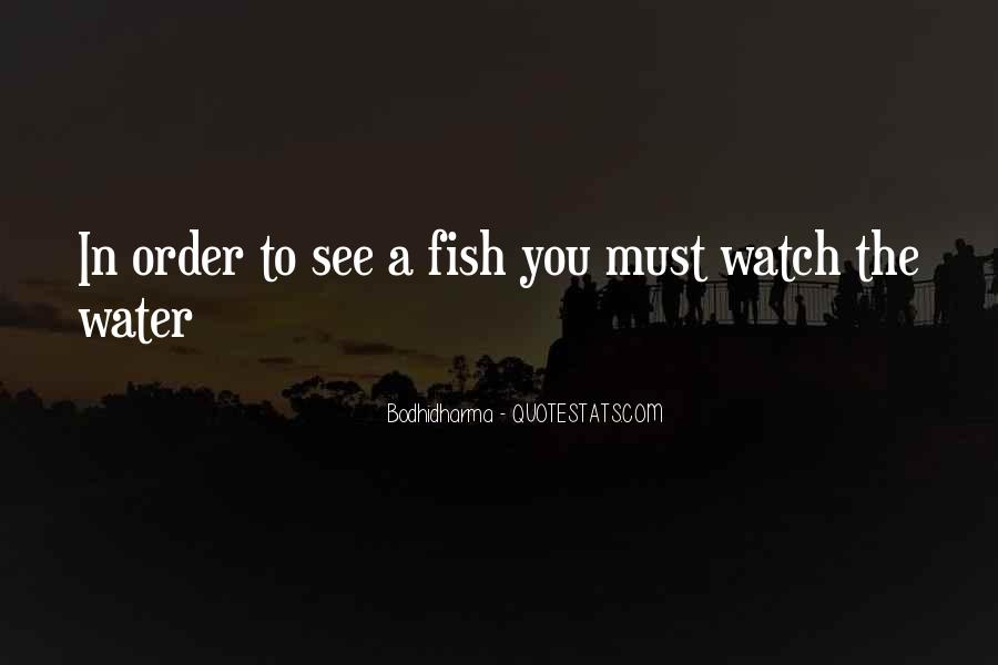 Fish In Water Quotes #4465