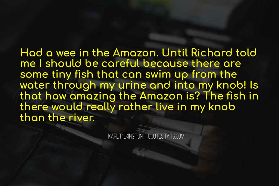 Fish In Water Quotes #49888