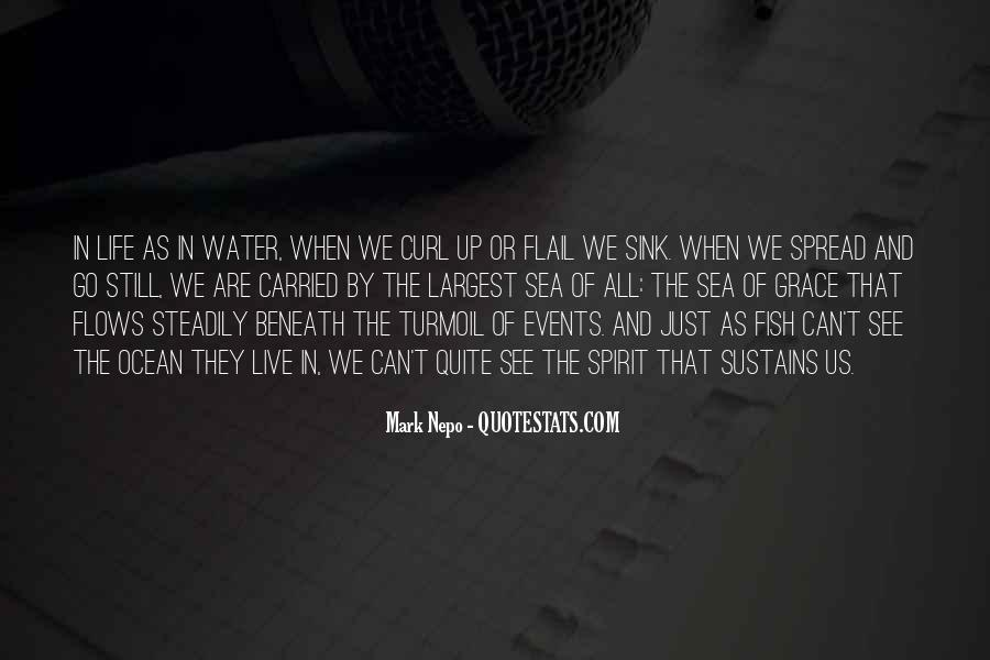 Fish In Water Quotes #640169