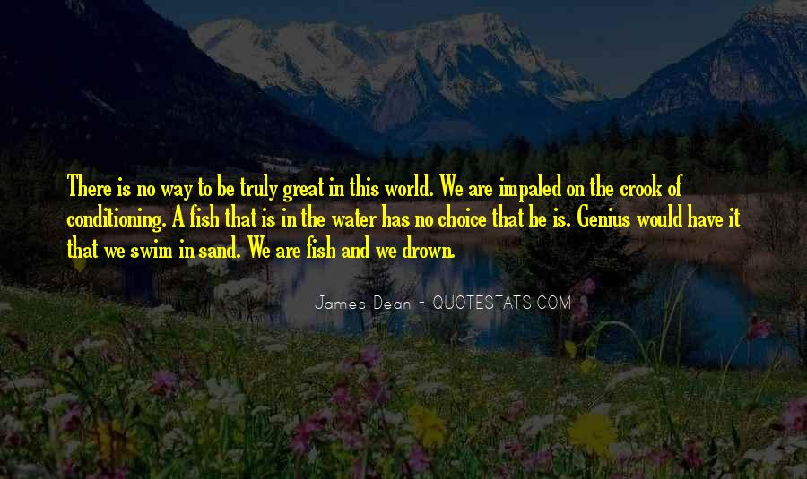 Fish In Water Quotes #841766