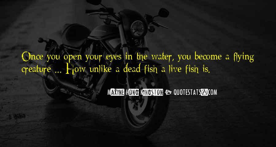 Fish In Water Quotes #935134