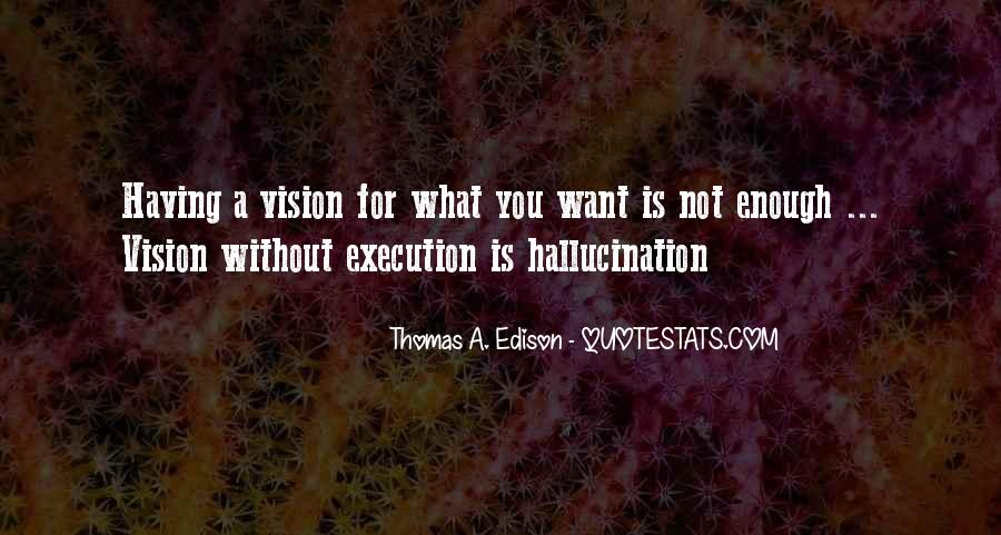 Quotes About Having A Vision #1201626