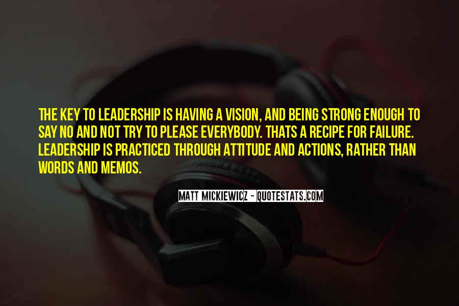 Quotes About Having A Vision #355651