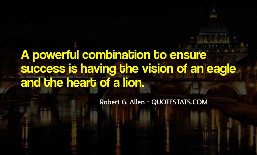 Quotes About Having A Vision #433871