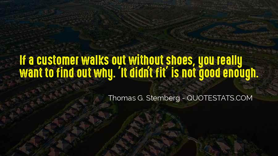 Fit My Shoes Quotes #1274864