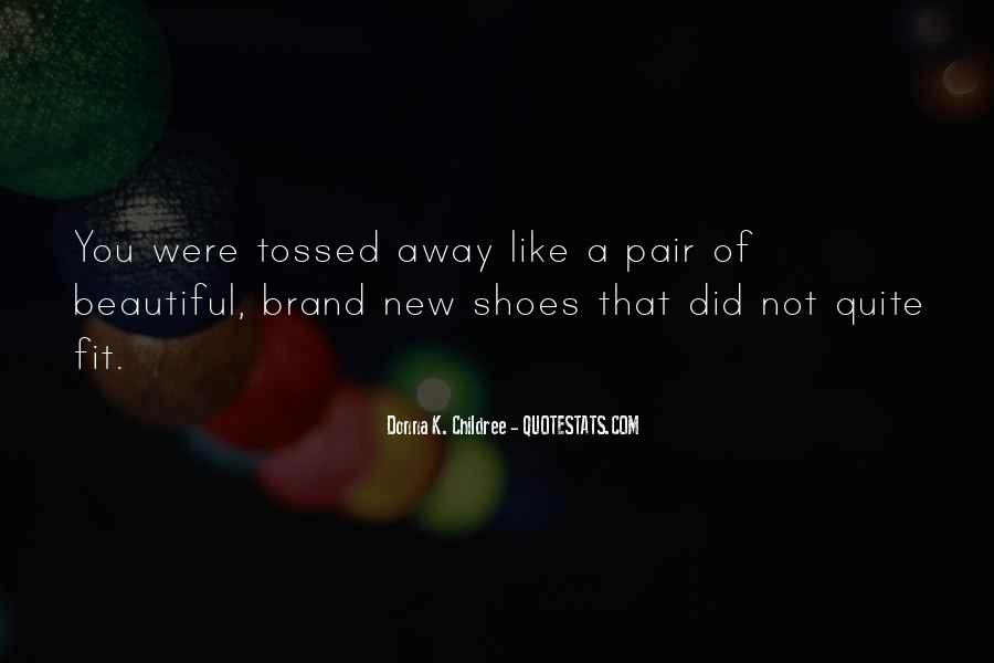 Fit My Shoes Quotes #1483249