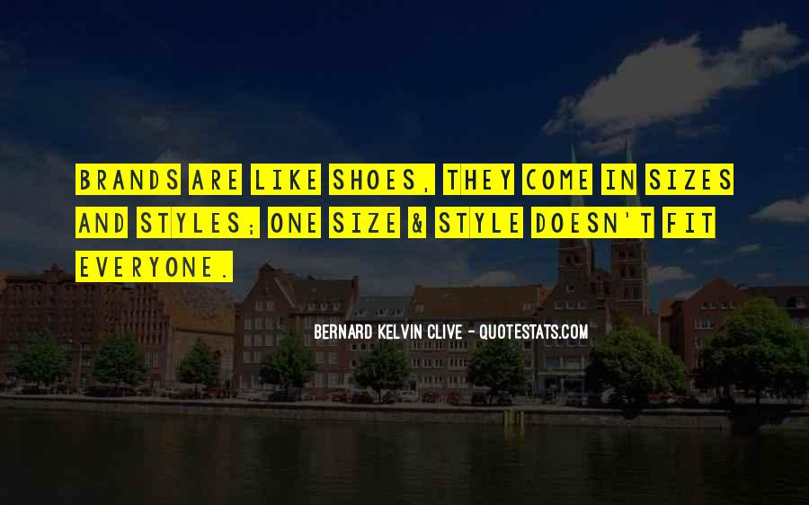 Fit My Shoes Quotes #1778730