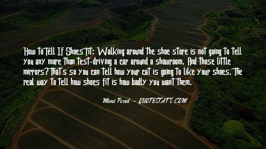 Fit My Shoes Quotes #775901