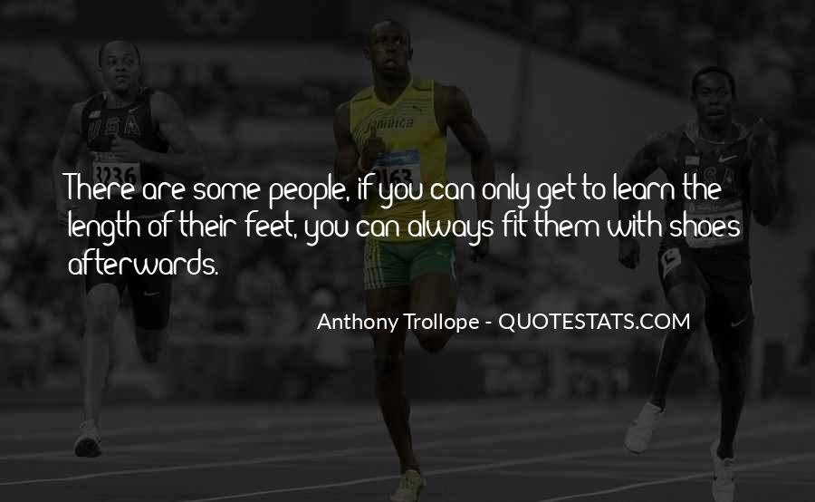 Fit My Shoes Quotes #973989