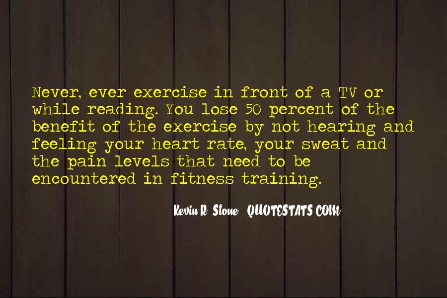 Fitness Sweat Quotes #1201708