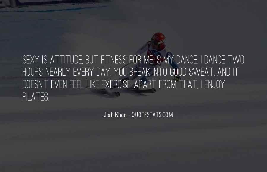 Fitness Sweat Quotes #338407