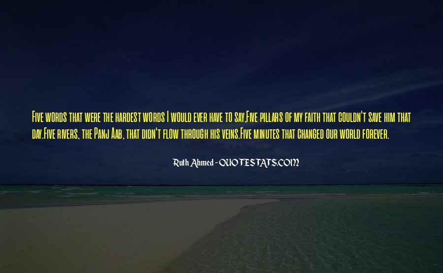 Five Pillars Of Islam Quotes #1219358