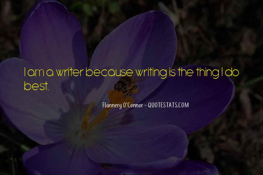 Flannery O'connor Writing Quotes #1115286
