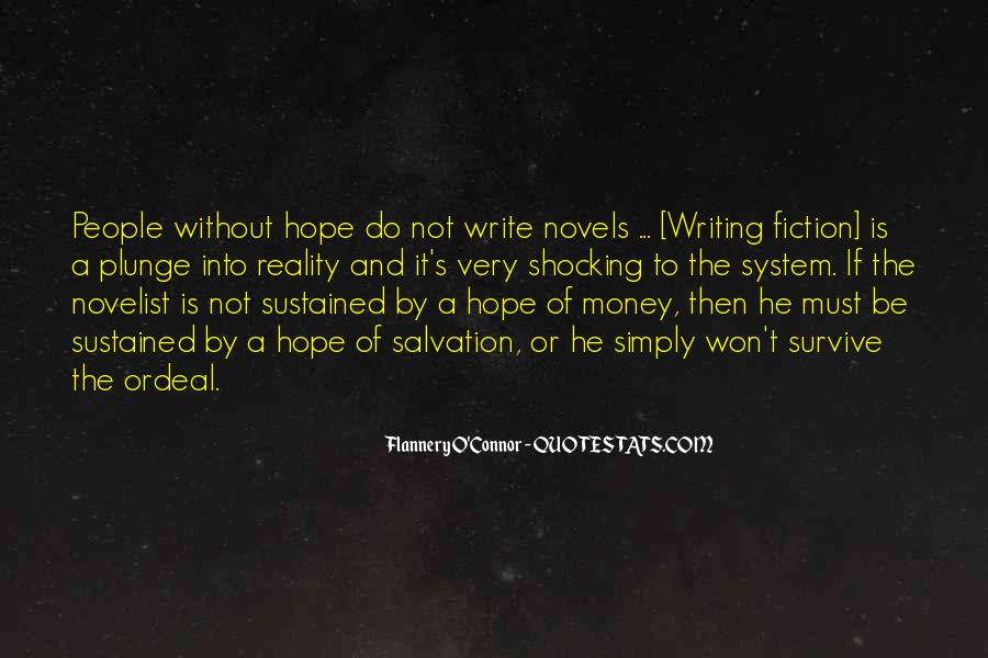 Flannery O'connor Writing Quotes #1138166