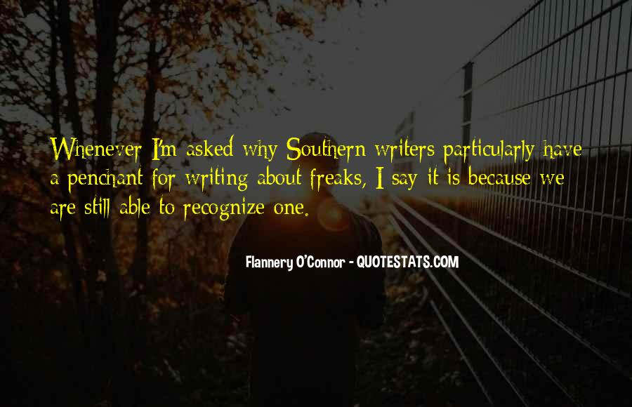 Flannery O'connor Writing Quotes #114996