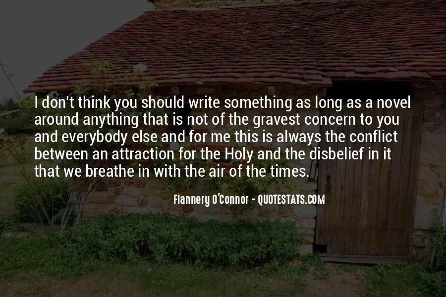 Flannery O'connor Writing Quotes #119587