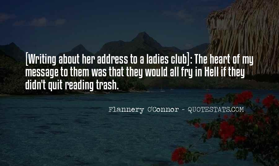 Flannery O'connor Writing Quotes #426741
