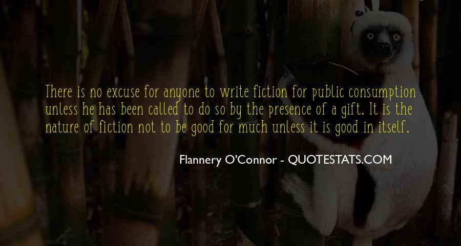 Flannery O'connor Writing Quotes #458776