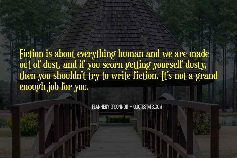 Flannery O'connor Writing Quotes #544590