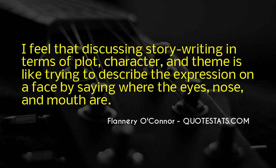 Flannery O'connor Writing Quotes #573468